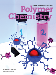cover of journal of polymer science part A: polymer chemistry