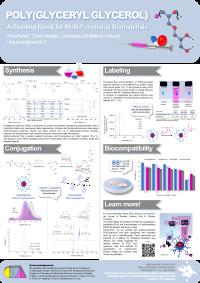 poster about poly(glyceryl glycerol)